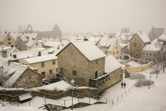 Utsikt från Klinten