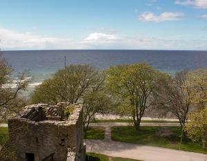 Väktargången, mot havet. Foto: Linda Dahlström