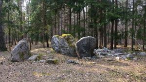 Gravanläggning från stenålderns slut, Gnisvärd. Foto: Linda Dahlström