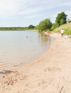 Sandgropen Träkumla. Foto: Linda Dahlström