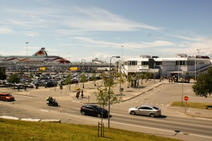 Färjeterminalen. Foto: Linda Dahlström