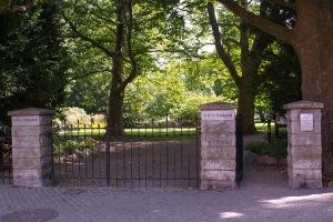 Ingång Botaniska trädgården. Foto: Linda Dahlström
