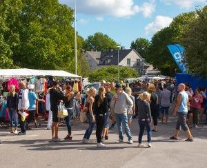 Slite marknad 2015-08-29. Foto: Linda Dahlström