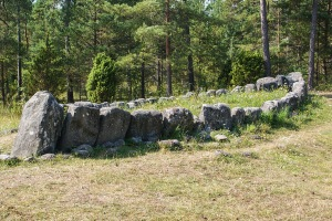 Tjelvars grav. Foto: Linda Dahlström