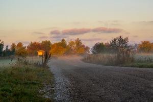 Vägen ut till Galgberget. Foto: Linda Dahlström