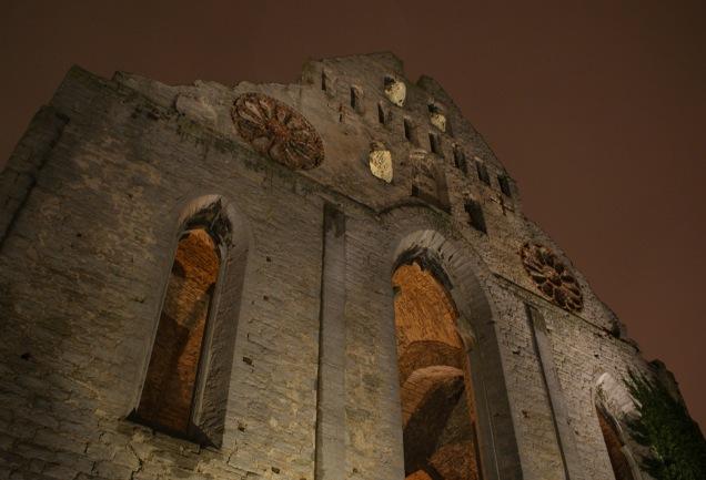 Sankt Nicolai ruin.